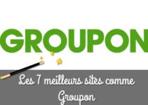 meilleurs sites similaires à Groupon