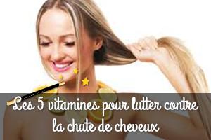 Les 5 vitamines indispensables pour lutter contre la chute de cheveux