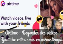 Airtime : regarder des vidéos Youtube entre amis en même temps