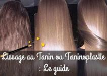 Lissage au Tanin ou Taninoplastie : avis et guide d'achat