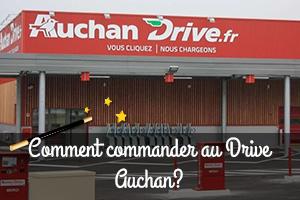 Drive Auchan commandes en ligne