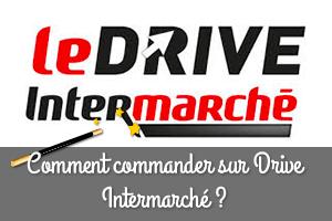Commander sur l'application drive intermarché