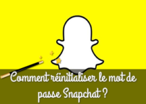 Comment réinitialiser le mot de passe Snapchat ?