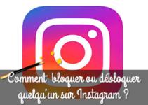 instagram bloquer utilisateur