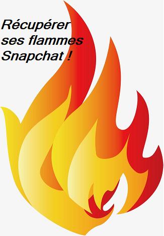 comment récupérer ses flammes snapchat facilement
