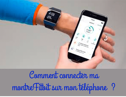 Synchronisation montre fitbit
