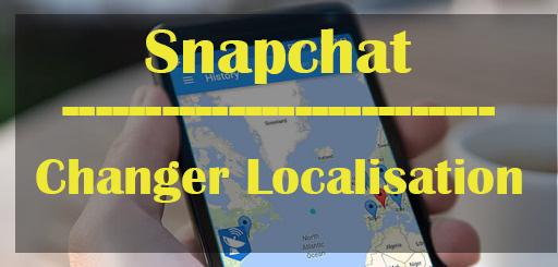 changer sa localisation snapchat iphone