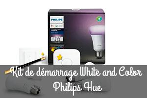 Meilleur kit de démarrage philips hue white and color ambiance