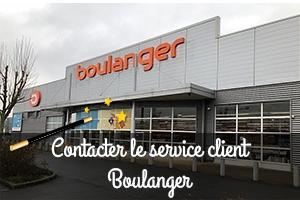 Contacter le service client Boulanger