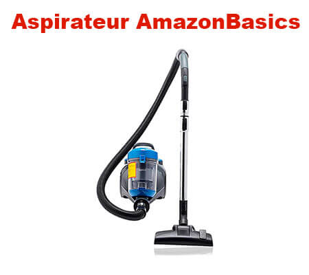 amazonbasics aspirateur