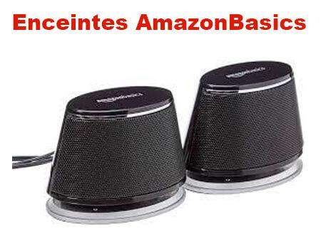 AmazonBasics enceintes test