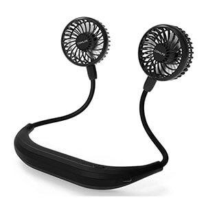 Meilleur ventilateur portable tour de cou