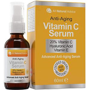 20% sérum de vitamine C All Natural Advice
