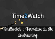 Time2watch fermé