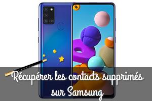 Comment récupérer mes contacts supprimés sur un téléphone Samsung ?