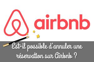 annuler réservation airbnb