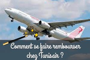 comment se faire rembourser un billet d'avion tunisair
