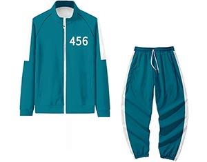 costume vert ded Seong Gi-hun (numéro 456)