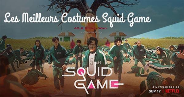 meilleurs déguisements Squid Game sur amazon